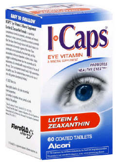 ICaps box of 60 tablets (1 month supply)